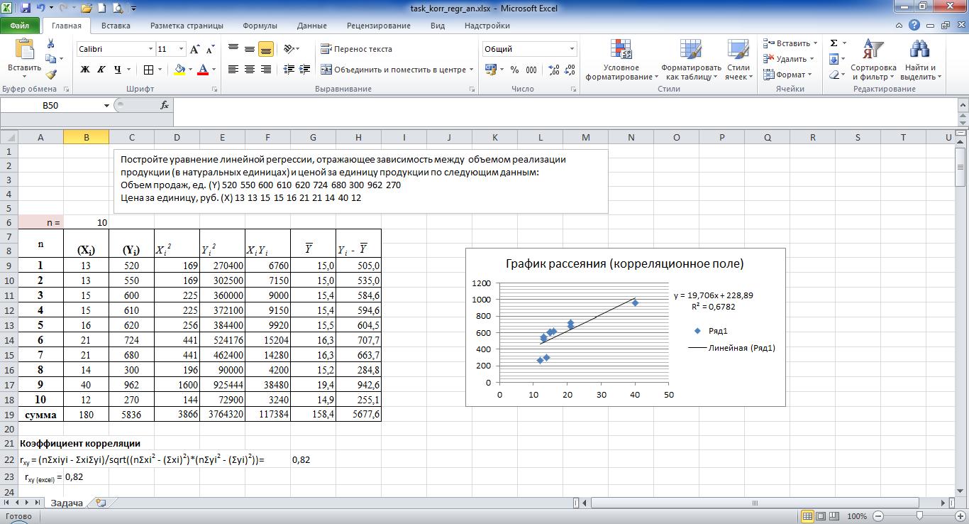 Корреляционный анализ excel как сделать